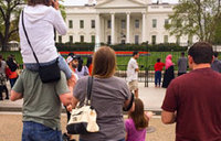 White House fence climber arrested