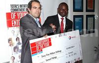 Total Uganda awards top innovators