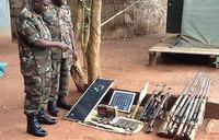 UPDF captures ammunition from Kony