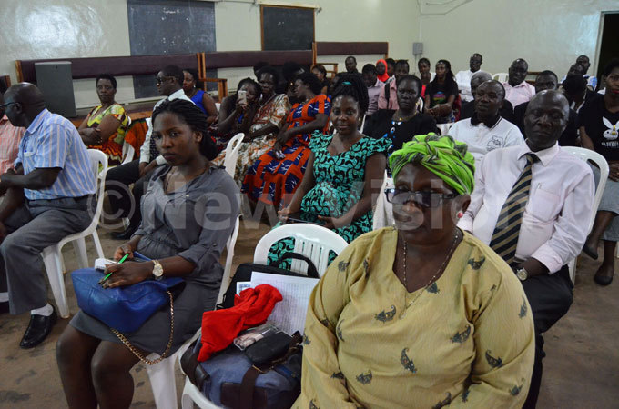 crosssection of the people who attended the launching of pios book