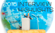 From doubts about GDPR to affordable private cloud: Here's our interview highlights from 2018