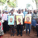 New Vision staff walk to Namugongo