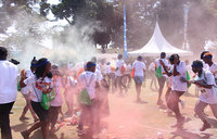 A colourful fitness party at Heroes in Colour Run