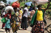 Thousands flee DR Congo fighting to Uganda: UN
