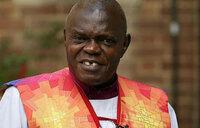 Archbishop Sentamu puts collar back on after Mugabe's fall
