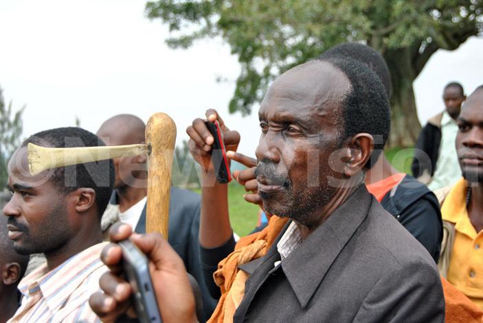ome of the regalia at the mpango