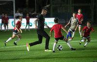 Beckham predicts an England v Argentina World Cup final