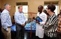 EU envoys shocked by state of Kyangwali Health Centre