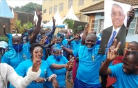 In Pictures: Excitement as Lukwago joins FDC