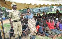 Police dispatch disciplinary units to Rwenzori region