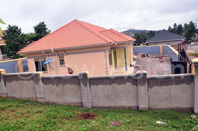 kankwasa has used the loan facility to build rental units in ukono