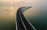 In pictures: China opens world's longest sea bridge