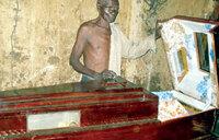 Mbale elder prepares for his burial