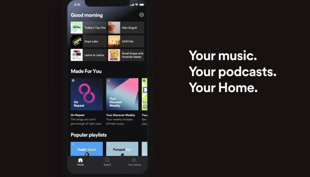 Spotify's mobile app makes it easier to dip back into your favorite playlists