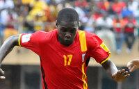 HALF TIME: Uganda 1 Congo 0