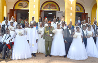 First corporate wedding at St. Francis Chapel Makerere