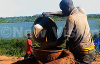 In today's New Vision: Fishermen sucked into gold rush