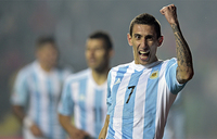 Football: Argentina play down Di Maria injury woe