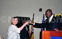 French envoy hosts Museveni, guests for Bastille Day celebrations