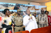 Museveni commissions CCTV cameras