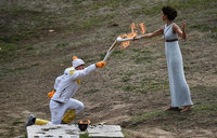 Olympic Flame lighting ceremony closed to public