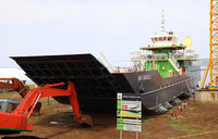 MV Sigulu launches onto Lake Victoria