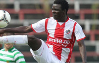 Kizito Luwaga is determined to succeed as a professional