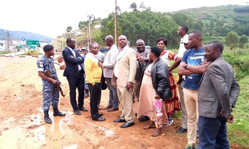 Kabale district leaders meeting at the border point as they prepare to host friday s meeting photo by job namanya 350x210