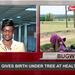 Around Uganda: Mother gives birth under tree at health unit