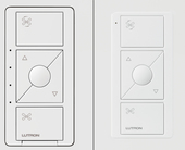 Lutron adds a smart ceiling fan controller to the Caséta line