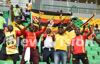 Fans in Gabon kept the Cranes spirit alive