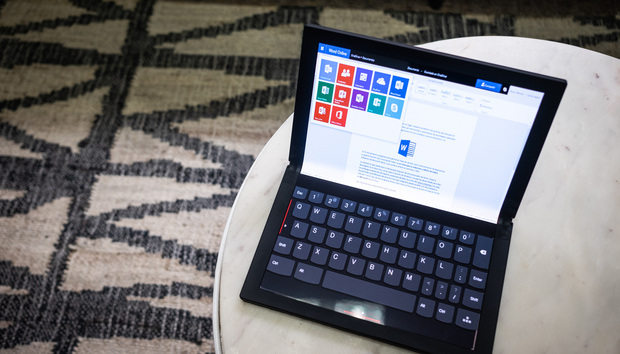 Lenovo's foldable tablet is called the ThinkPad X1 Fold, and it'll ship for $2,499 mid-year
