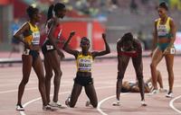 Nanyondo, Nakaayi storm 800m final in Doha