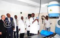 Radiotherapy machine commissioned