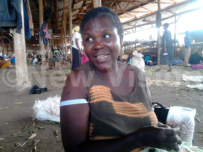 sther uubi a mother of three is among the hundreds of street vendors who  ampala apital ity uthority  law enforcement officers confiscated her merchandise hoto by eo tim
