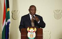 S.Africa's Ramaphosa slams ex-apartheid leader's 'treasonous' remarks