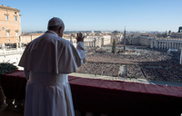 Pope prays for peace in global flashpoints