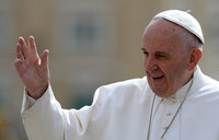 Pope Francis: reaching out to Muslims
