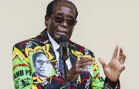 Mugabe marks 93rd birthday with faltering TV interview
