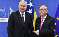 Row over race to succeed EU's Juncker