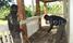 Ssemwanga's relatives repair village house