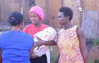Mother delivers baby from roadside toilet