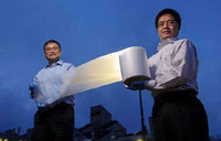 The new thin material that acts as air conditioner