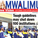 Over 100 tertiary institutions face closure