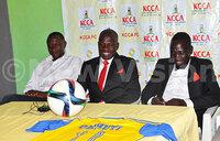 Striker Ceasar Okhuti joins KCCA