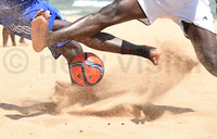 St Lawrence retains university beach soccer title