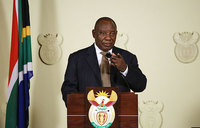 S.Africa's minister who flouted lockdown rules sent on leave