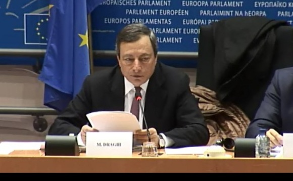 "Draghi did confirm policymakers had begun ""very, very preliminary"" discussions about QE tapering"