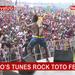 Kabako's tunes rock Toto festival