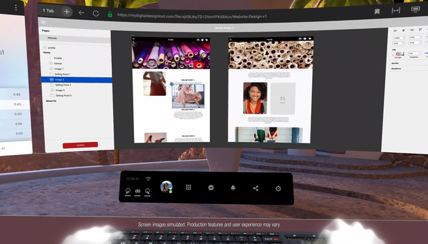 Facebook will bring multiple displays into VR with 'Infinite Office'